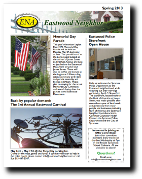Eastwood Neighbor Spring 2013