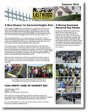 Eastwood Neighbor Summer 2016 Newsletter